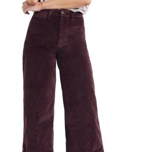 Velveteen Cropped Pants (NWT)
